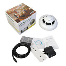 Wireless Digital HD Camcorder Wifi P2P IP Camera Spy Smoke Detector Motion DVR