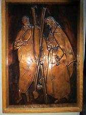 Älteres Kupferbild / Wandbild ~ ca. 20 x 30 cm ~ Handarbeit, Religion