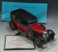 FRANKLIN MINT 1935 MERCEDES BENZ 770K SEDAN CAR 1:24 SCALE CAR DIE CAST #2