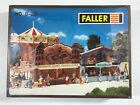 Faller Model B-320 HO scale Midway Carnival Fair Booths NEW OLD STOCK SEALED