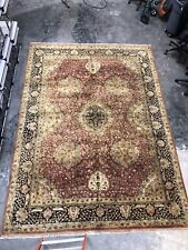 Anatolian Rug Rust Color Wool 10x14ft