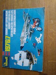Rare Vintage Revell Model Kit Catalogue 1976/7, Full Colour