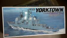 Battleship-戰艦模型USS Yorktown-Ticondecora Class Missle Curiser+Bonus Missle Boat**