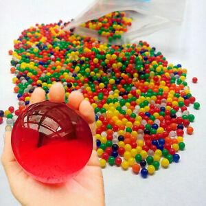 Large Giant Jumbo Orbeez Water seeds Crystal Soil Jelly Gel  Magic Balls
