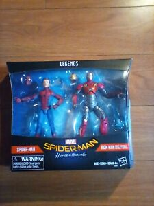 "SPIDER-MAN & SENTRY IRON MAN Homecoming Marvel Legends 6"" Figures!! Brand new.."