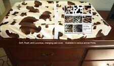 Animal Print Changing Pad Cover Various Prints