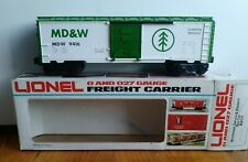 LIONEL O GAUGE MINNESOTA DAKOTA WESTERN BOX CAR 6-9416 ( LIGHTLY USED )