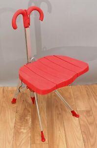 AUTHENTIC Mid Century Modern Folding Umbrella Chair Gaetano Pesce Zero Disegno