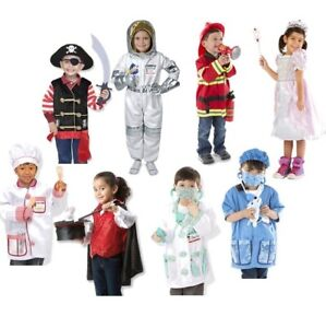 Melissa and Doug Fire Chief Princess Costume   Childs Fancy Dress and Role Play
