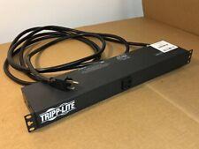Tripp Lite Single Phase 120V 60Hz PDU Rack Mount 1U 13x 5-15/20R Out 1x 5-20P In