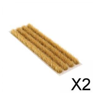 2X 1:72 87 Weizenfeldmodell Künstliche Mini Terrain Rasen Landschaftslandschaft