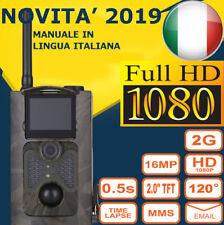 FOTOTRAPPOLA MIMETICA NUOVA VIDEOCAMERA SPIA MMS -EMAIL- INVISIBILE 16MP FULL HD