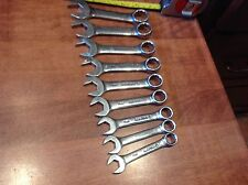 MATCO TOOLS 9 Piece Metric Stubby Combination Wrench Set