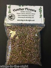 HEATHER FLOWERS Dried Magical Herb ~ Protection ~ Witchcraft/Wicca/Spells