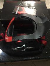 NEW ALPINESTARS CARBON FIBER MOTOCROSS FMX MX 650009 NECK BRACE SIZE Small