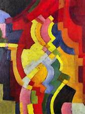August MACKE MODULI COLORATI (III) OLD MASTER ARTE PITTURA stampa poster art 248om