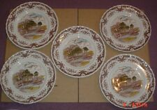 W H Grindley The Hay Wain SCENES AFTER CONSTABLE Brown Plates x 5