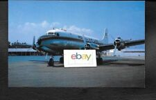 ROYAL AIR LAO DOUGLAS DC-4 SKYMASTER #XW-TDE AT SAIGON VIETNAM POSTCARD