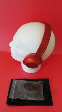 Sony MDR-100APP h.ear on Wired Headphones- Red- Pre Owned- Boxed