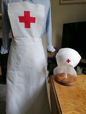 Ww2 Red Cross Nurses Apron And Veil