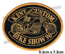 HELLS ANGELS KENT CUSTOM BIKE SHOW 1996 Patch HIGHLY COLLECTABLE RARE KBCS