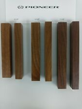 Solid Walnut Reproduction Pioneer Sx Receiver End Caps - 3 sizes