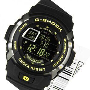 Casio G-Shock  Mens Watch G7710-1  G-7710-1DR Digital Motor Sports Motif Black