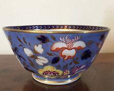 19th c. English Regency Porcelain Bowl Spode Derby Worcester George III 1820