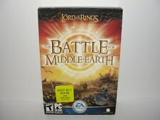New Sealed Lord of the Rings The Battle for Middle-Earth PC 2004 Gatefold Box