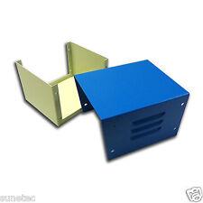 """SU443 4"""" DIY Electronic Electrical Metal Project Transformer Enclosure Case"""