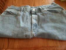 MEN'S WRANGLER FADED AUTHENTIC PREMIUM  QUALITY JEANS 36 X 32 PREOWNED