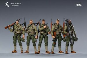 (In-Stock@ 5zeroToys) JoyToy 1/18 scale WWII US ARMY SET OF 5 Collection