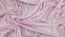 Crushed Velvet Fabric Premium Quality Craft Curtain Stretch Velour Material