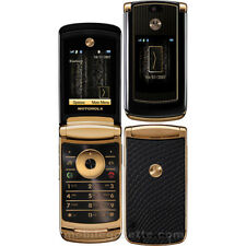 Unlocked Motorola MOTORAZR2 V8 512MB Luxury Edition Gold Cellphone Refurbished