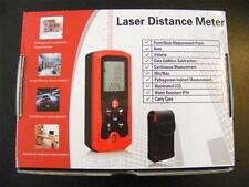 40M/131FT Laser Distance Meter Range Finder Built in Level Carry Case Batteries