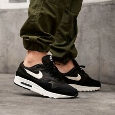 MENS NIKE AIR MAX 1 SIZE 12 EUR 47.5 (AH8145 014) BLACK / WHITE