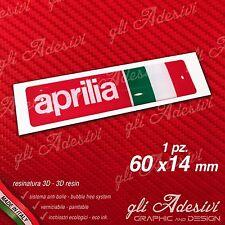1 Adesivo Resinato Sticker 3D APRILIA Racing Italia