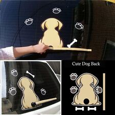 Funny Brown Dog With A Wagging Tail Wiper Decals Sticker Car Rear Window Decal