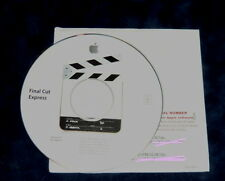 Apple Power Mac Final Cut Express 1.0 Retail 2001-2003 Video Production Editing
