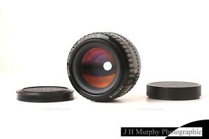 PENTAX A 50mm F1.4 Lens K Mount SMC for K1000 LX or adapt to digital A7 A9