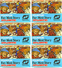 6 Sets of 1/72 Scale Atlantic HO Far-West Story Stampede # 1113 - mint in box