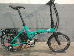 A2B Kuo Folding Electric Bike New 36v 9ah Battery