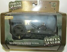 DieCast 1/72 FORCES of VALOR WWII Unimax US M3A1 SHERMAN MINE CLEARING Tank NEW