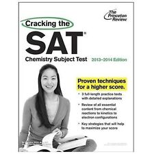 Cracking the SAT Chemistry Subject Test, 2013-2014 Edition (College Test Prepara