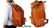 Handmade Purity Leather Messenger Bag Backpack Rucksack Real Genuine Vintage bag