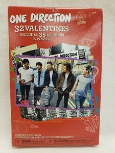 One Direction 32 Count Kids Valentine Exchange Cards