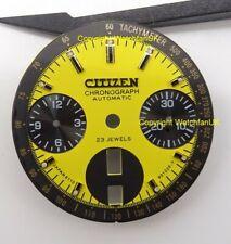 Replacement Yellow Dial CITIZEN 8110 BULLHEAD Chronograph WATCH