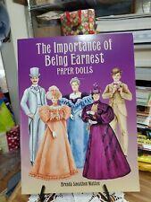 The Importance of Being Earnest Paper Dolls Brenda Sneathen Mattox new