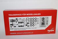 Herpa 083485 Zugmaschinen-Fahrgestell MAN 3-achs Allrad 1:87 H0 NEU in OVP