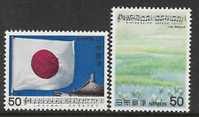 JAPAN 1979 SONGS MUSIC SERIES 6 2v MNH